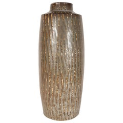 Scandinavian Organic Midcentury Ceramic Vase by Gunnar Nyland for Rörstrand