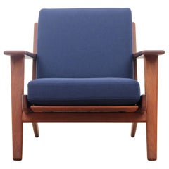 Scandinavian Armchair Model GE290 by Hans Wegner for GETAMA