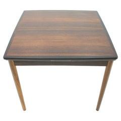 Scandinavian Palisander Adjustable Dining Table, 1960s