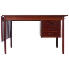 Scandinavian Rosewood Desk by Arne Vodder