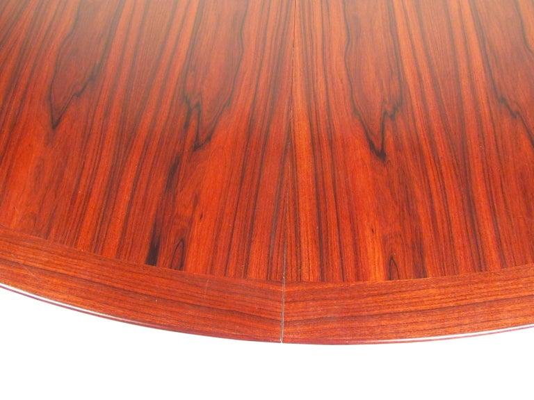 Scandinavian Rosewood Dining Room Set by Skovby For Sale 7