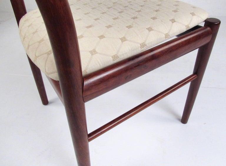 Scandinavian Rosewood Dining Room Set by Skovby For Sale 12