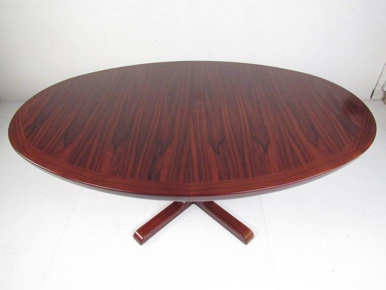 Scandinavian Rosewood Dining Room Set by Skovby For Sale 2