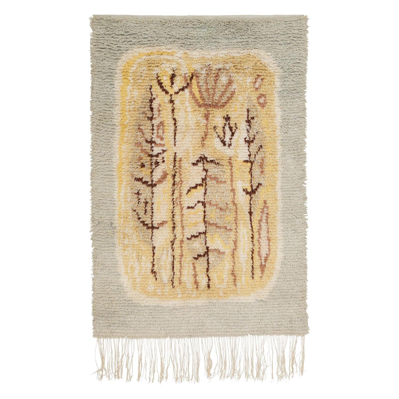 Scandinavian Rya Rug Wall Hanging Tapestry Finland