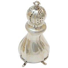 Scandinavian Salt Shaker, Silver, Second Half of the 19th Century
