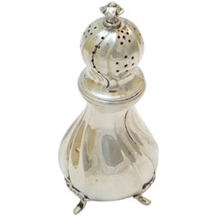 Scandinavian Salt Shaker, Silver, Second Half of the 19th Century, Sweden