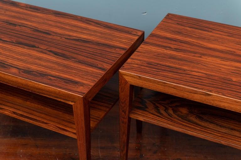 Scandinavian Modern Scandinavian Side Tables or Nightstands by Severin Hansen For Sale
