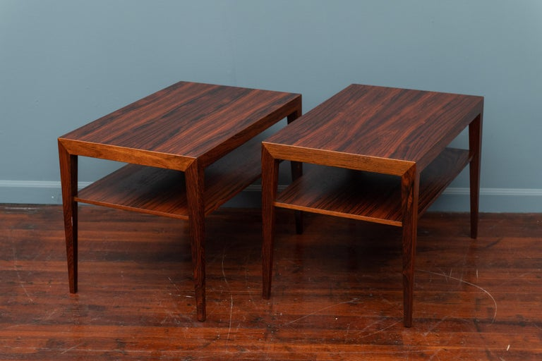Scandinavian Side Tables or Nightstands by Severin Hansen In Good Condition For Sale In San Francisco, CA