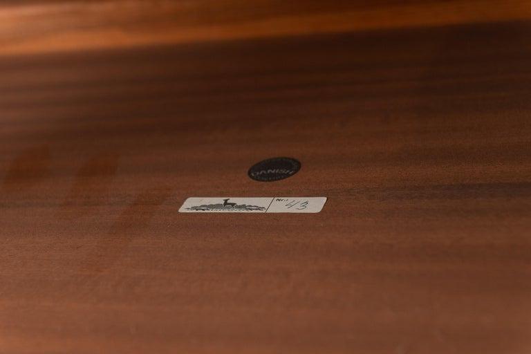 Rosewood Scandinavian Side Tables or Nightstands by Severin Hansen For Sale