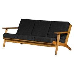 Scandinavian Sofa GE 290 Danish Designer Hans Wegner for GETAMA