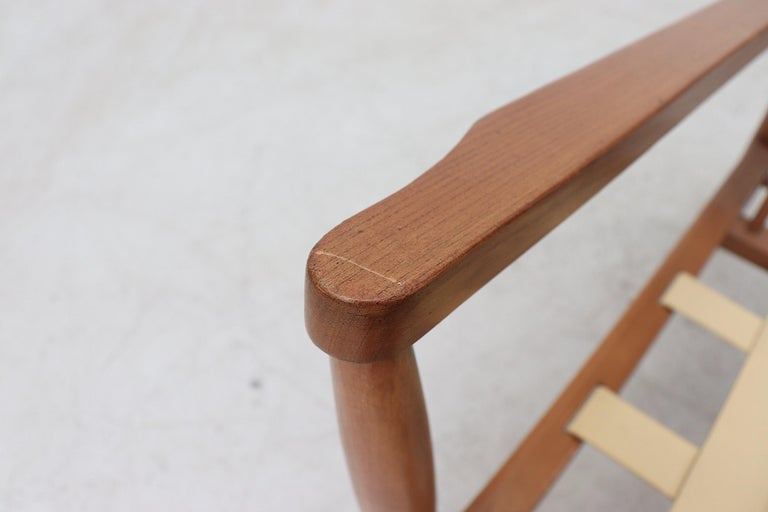 Scandinavian Spindle Back Lounge Chair For Sale 6