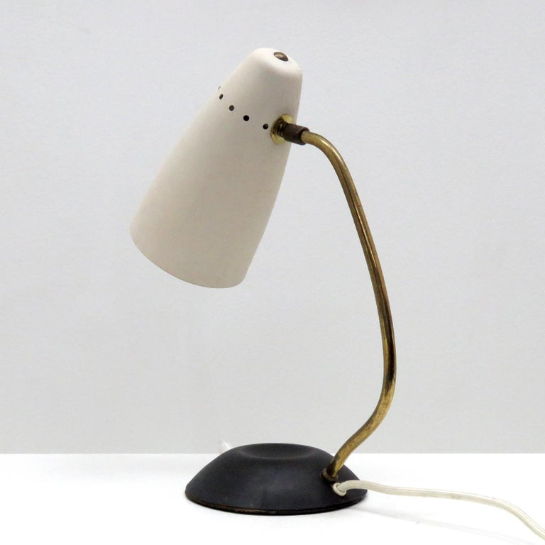 Scandinavian Table Lamp, 1950 In Good Condition For Sale In Los Angeles, CA