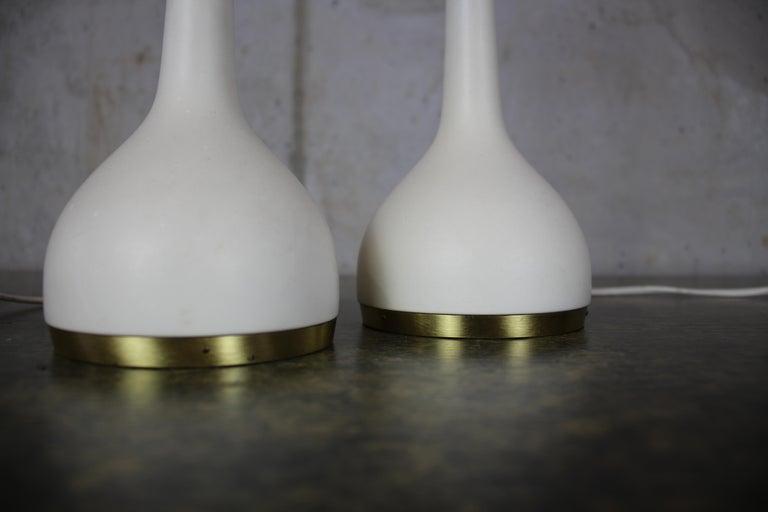 Scandinavian Table Lamps by Hans-Agne Jakobsson AB Markaryd, Sweden, 1960s For Sale 4