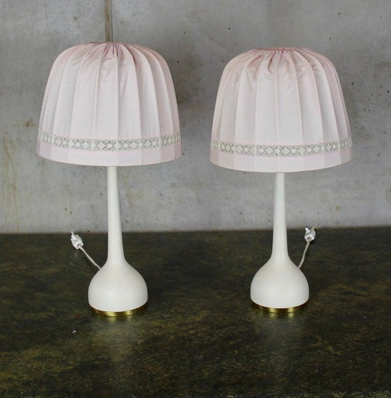 Scandinavian Table Lamps by Hans-Agne Jakobsson AB Markaryd, Sweden, 1960s For Sale 7
