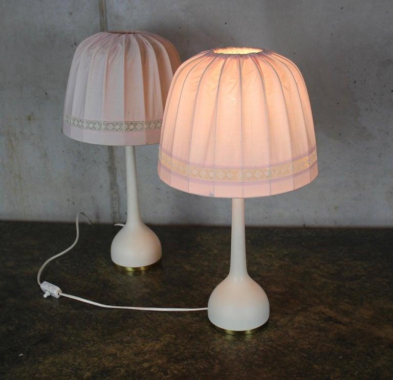 Scandinavian Table Lamps by Hans-Agne Jakobsson AB Markaryd, Sweden, 1960s For Sale 8