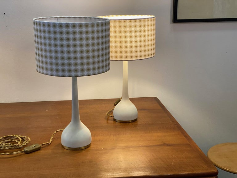 Swedish Scandinavian Table Lamps by Hans-Agne Jakobsson AB Markaryd, Sweden, 1960s For Sale