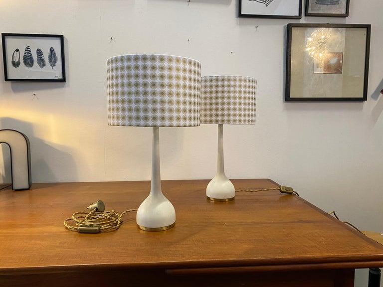 Scandinavian Table Lamps by Hans-Agne Jakobsson AB Markaryd, Sweden, 1960s For Sale 1