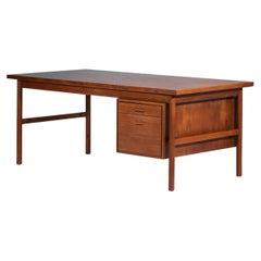 Scandinavian Teak Desk in the Kai Kristiansen Style from the 60s Danish, E522