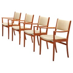 Scandinavian Teak Dining Chairs by Kai Lyngfeldt Larsen
