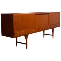 "Scandinavian Teak Extra Large Sideboard ""Gracil"", Svante Skogh for Seffle Möbel"