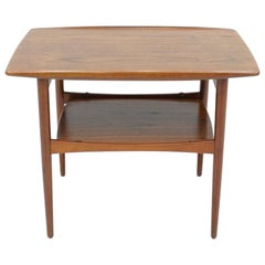 Scandinavian Teak Side Table, 1960s