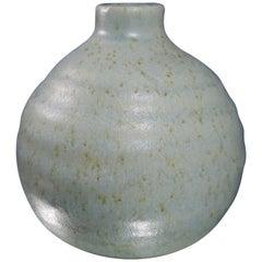 Scandinavian Vintage Ceramic Light Blue Vase