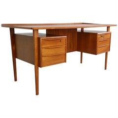 Scandinavian Writing Desk Designed by Peter Løvig Nielsen