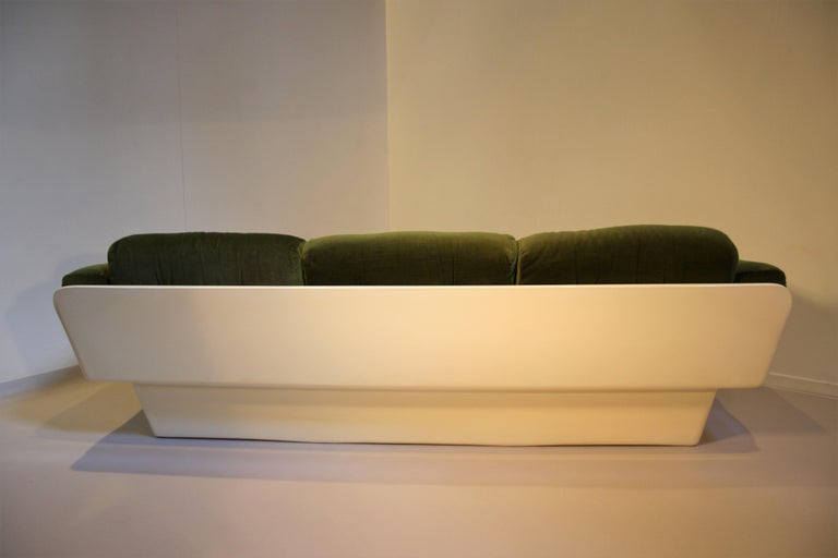 Scandinavian Modern Scandinavian Fiberglass Sofa from Eero Aarnio for Asko, 1970s For Sale