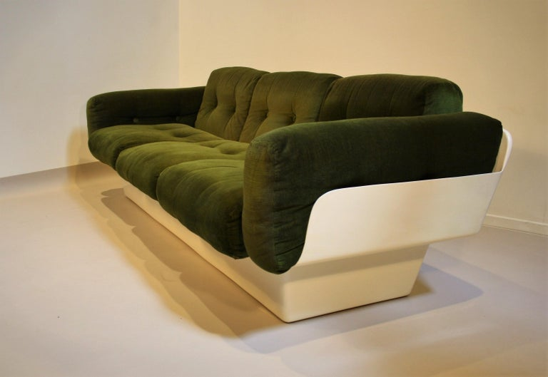 Late 20th Century Scandinavian Fiberglass Sofa from Eero Aarnio for Asko, 1970s For Sale
