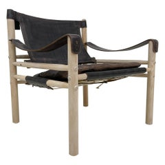 Scandinavien Modern Arne Norell Easy Chair Model Sirocco