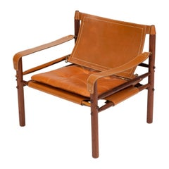 """Scanform-Edition """"Sirocco"""" Lounge Chair by Arne Norell"""