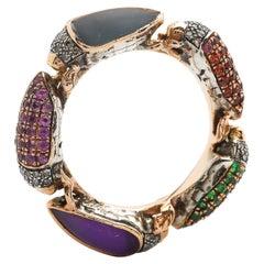 Scarab Eternity Ring