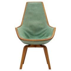 Scarce Arne Jacobsen Giraffe Chair by Fritz Hansen Denmark, 1959
