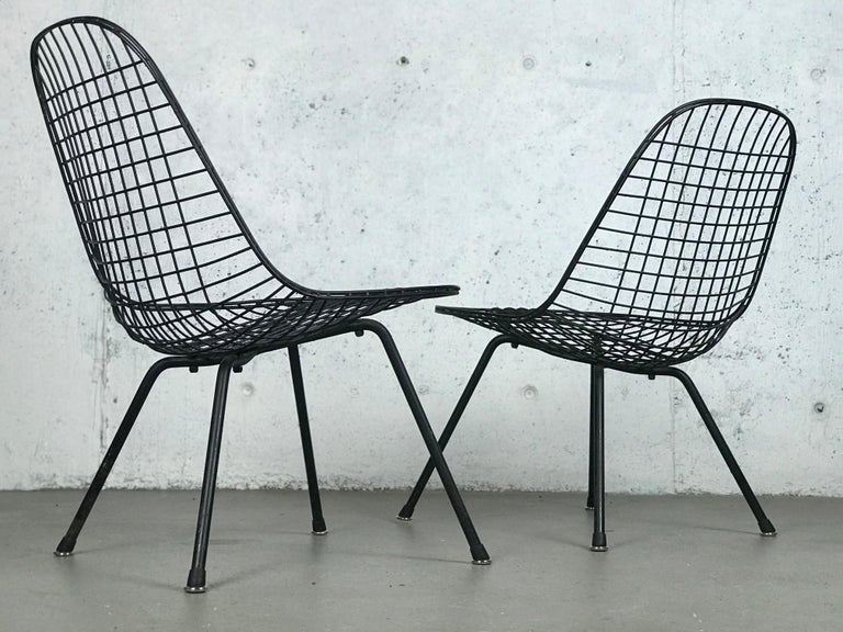 Eames LKX Lounge Chairs First Generation 1951 For Sale 11