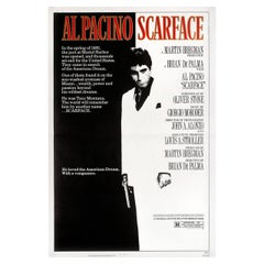 Scarface 1983 U.S. One Sheet Film Poster