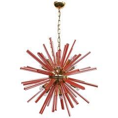Scarlet Sputnik Chandelier by Fabio Ltd