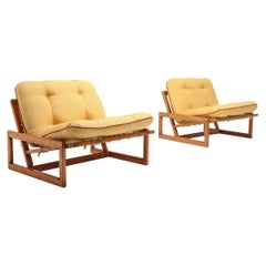 Scarpa 'Carlotta' Lounge Chairs for Cassina