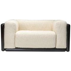 Scarpa 'Cornaro' Sofa Set in Ivory Bouclé for Simon
