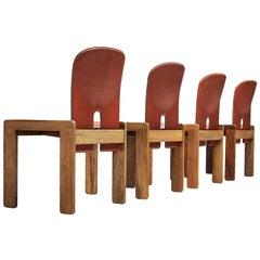 "Scarpa & Tobia Chairs Model ""121"""