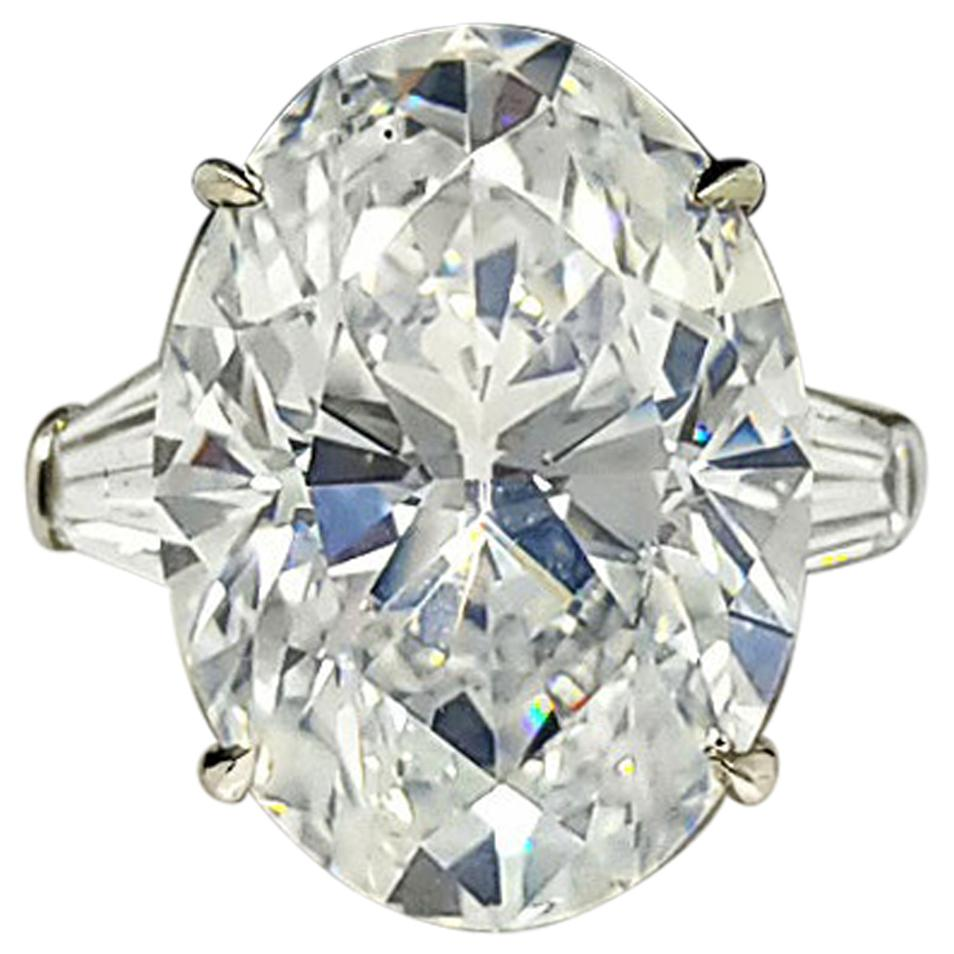 SCARSELLI 11 Carat Diamond Solitaire Engagement Ring GIA