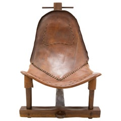 Scary Looking Brazilian Leather Hammock T Chair