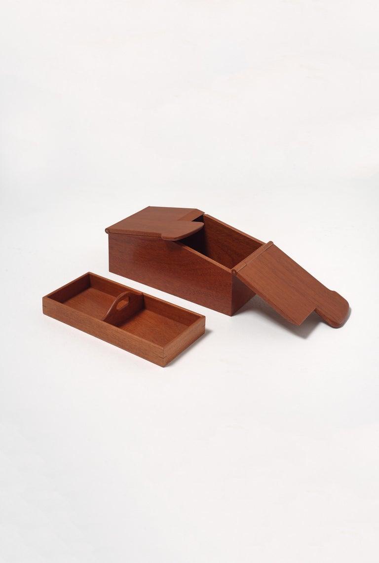 Modern Scatola Wooden Box by Emanuela Frattini Magnusson for Bottega Ghianda For Sale