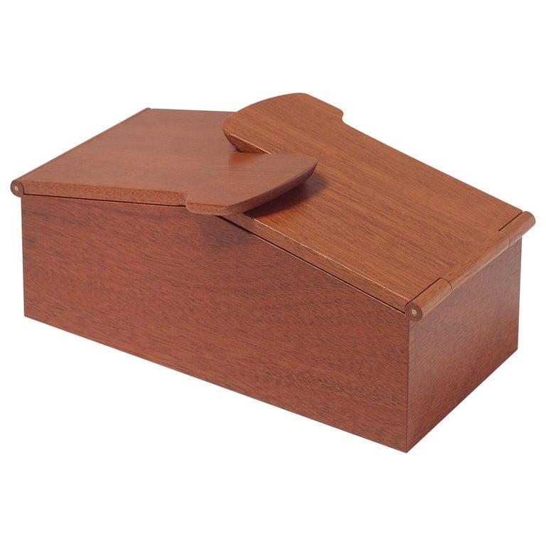 Scatola Wooden Box by Emanuela Frattini Magnusson for Bottega Ghianda For Sale