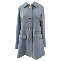Scee Light Blue Coat