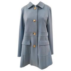 Scee Light Blue Coat