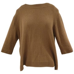 Scee Light Brown Sweater NWOT