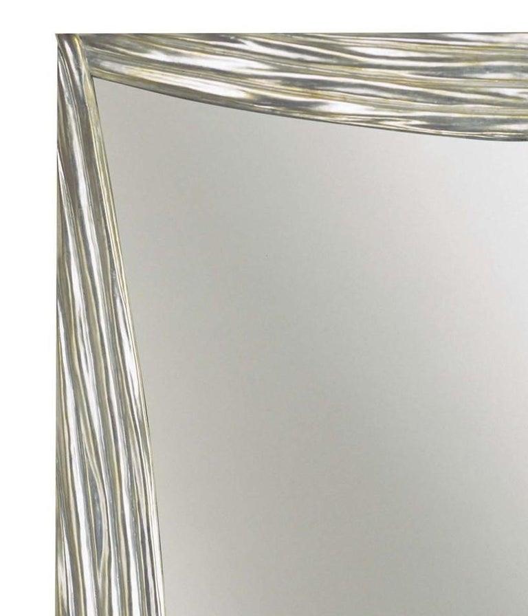 Scene silver mirror by Spini Firenze.