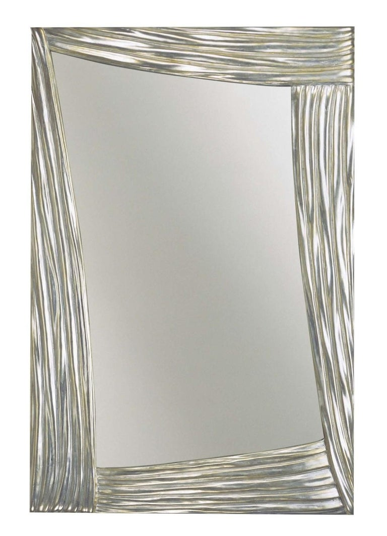 Scene Silver Mirror by Spini Firenze In New Condition In Milan, IT