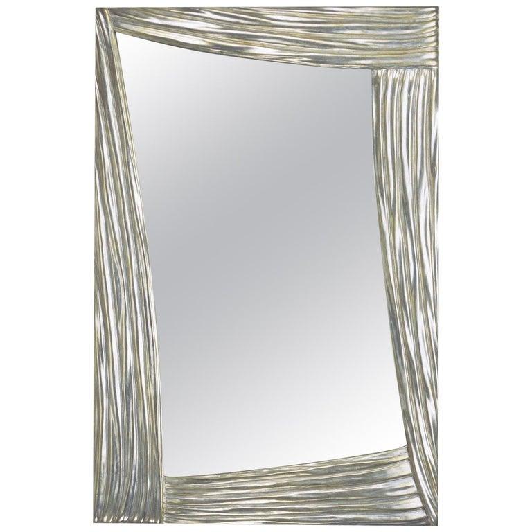 Scene Silver Mirror by Spini Firenze