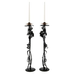 Scepter Candleholders by Albert Paley